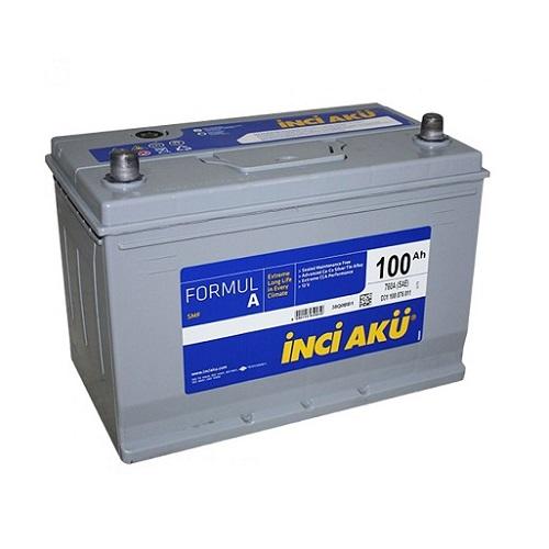 Аккумулятор Inci Aku ASIA FormulА 6СТ - 100 (п.п.) (115D31R) ниж.креп.