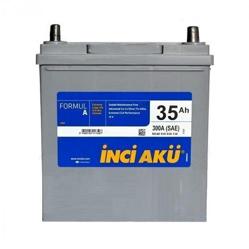 Аккумулятор Inci Aku ASIA FormulА 6СТ -  35 (о.п.) (40B19L)