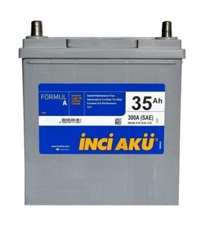 Аккумулятор Inci Aku ASIA FormulА 6СТ -  35 (п.п.) (40B19R)