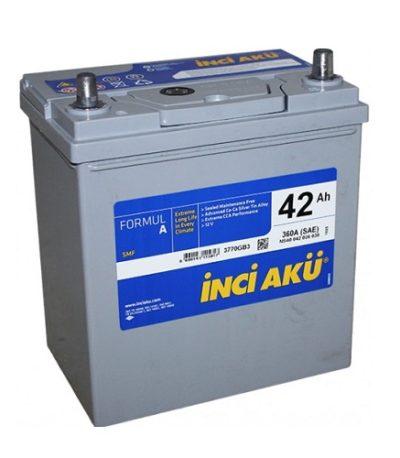 Аккумулятор Inci Aku ASIA FormulА 6СТ -  42 (о.п.) (46B19L)