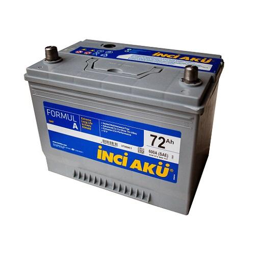 Аккумулятор Inci Aku ASIA FormulА 6СТ -  72 (п.п.) (90D26R) ниж.креп.