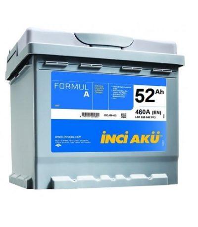Аккумулятор Inci Aku FormulА 6СТ - 52 (о.п.)  КУБИК
