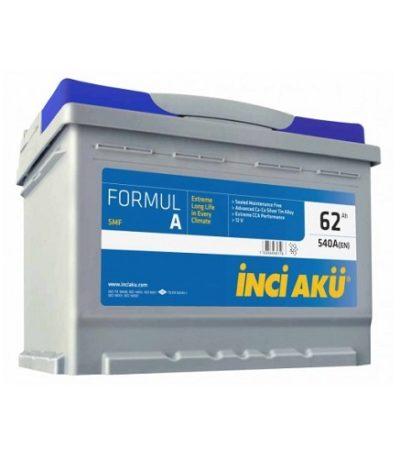 Аккумулятор Inci Aku FormulА 6СТ - 62 (о.п.)