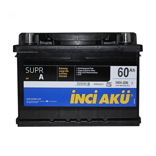Аккумулятор Inci Aku SuprA 6СТ - 60 (о.п.)