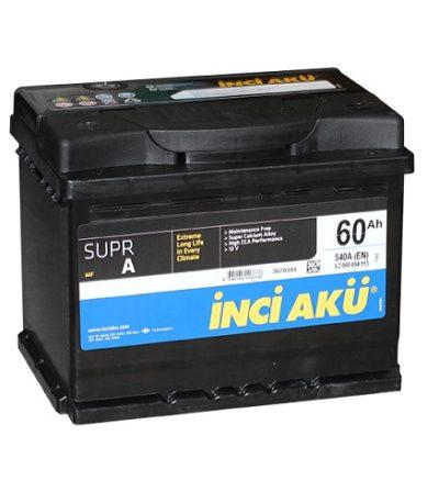Аккумулятор Inci Aku SuprA 6СТ - 60 (п.п.)