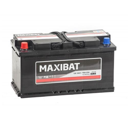 Аккумулятор MAXIBAT 6СТ- 100 ач о.п.