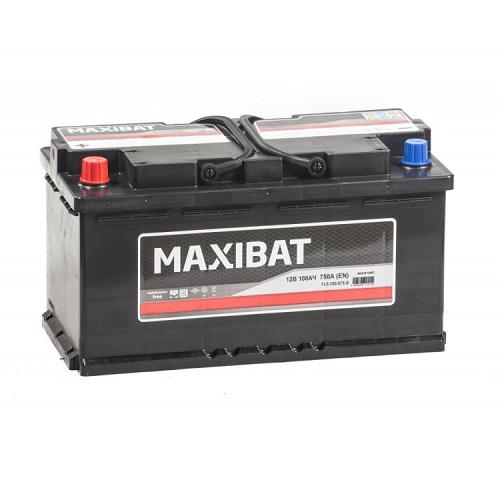 Аккумулятор MAXIBAT 6СТ- 100 ач п.п