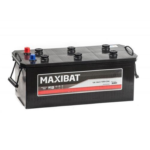 Аккумулятор MAXIBAT 6СТ- 190 ач евро