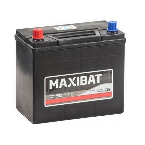 Аккумулятор MAXIBAT Asia 6СТ- 45 ач п.п.