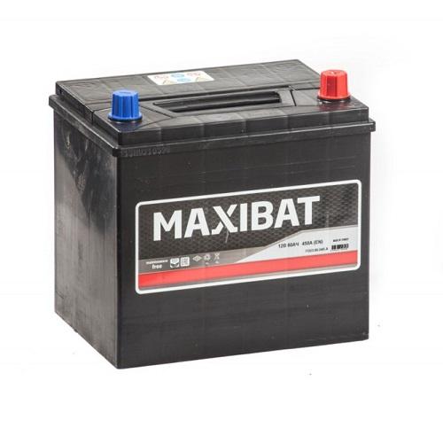 Аккумулятор MAXIBAT Asia 6СТ- 60 ач о.п.