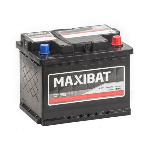 Аккумулятор MAXIBAT 6СТ- 60 ач о.п.