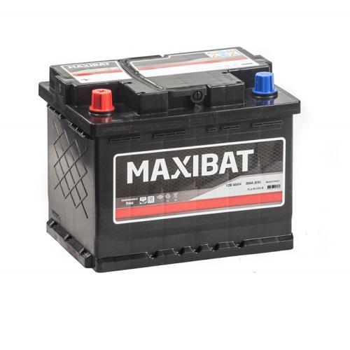 Аккумулятор MAXIBAT 6СТ- 60 ач п.п.