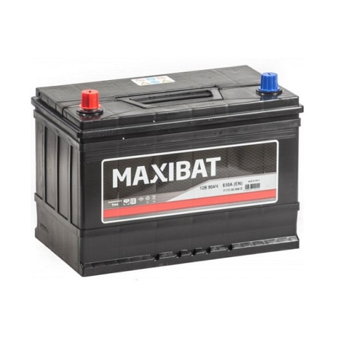 Аккумулятор MAXIBAT Asia 6СТ- 90 ач п.п.