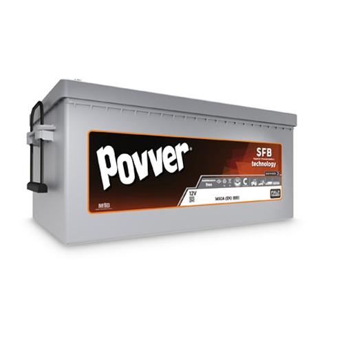 Аккумулятор POVVER SERIE 1  6CT-  225 (евро)