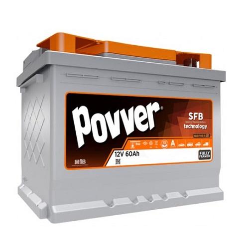 Аккумулятор POVVER SERIE 2  6CT-  60 (п.п.)