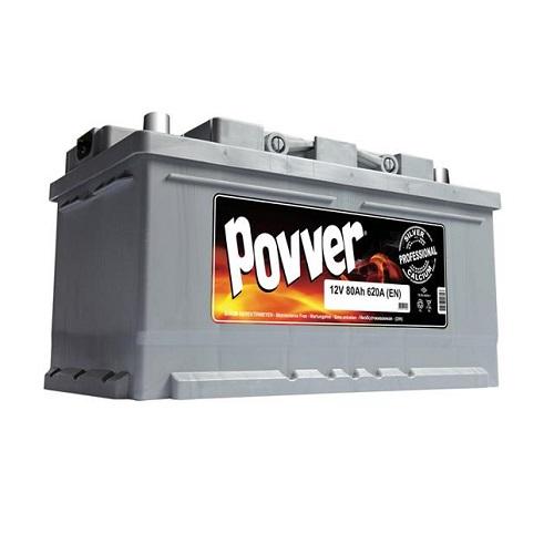 Аккумулятор POVVER SERIE 2  6CT-  80 (о.п.) низ.