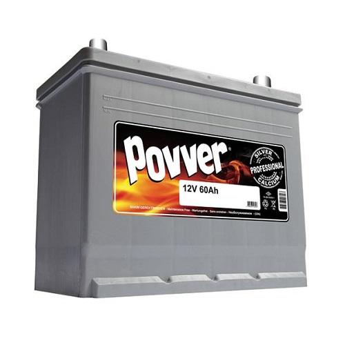 Аккумулятор POVVER SERIE 2  ASIA  6CT-  60 (о.п.)