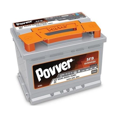 Аккумулятор POVVER SERIE 3  6CT- 60 (о.п.)