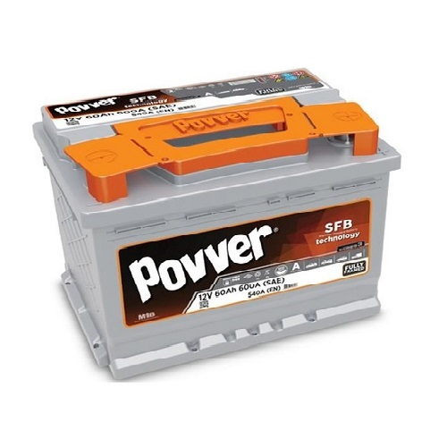 Аккумулятор POVVER SERIE 3  6CT- 60 (о.п.) низ.