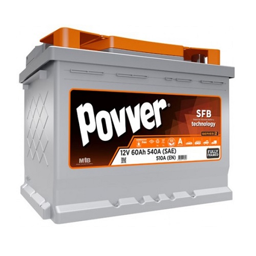 Аккумулятор POVVER SERIE 3  6CT- 60 (п.п.)