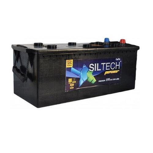 Аккумулятор SILTECH 6СТ- 195 VL (евро)