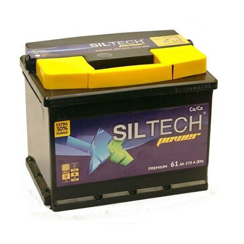 Аккумулятор SILTECH 6СТ-  61 VL (о.п)