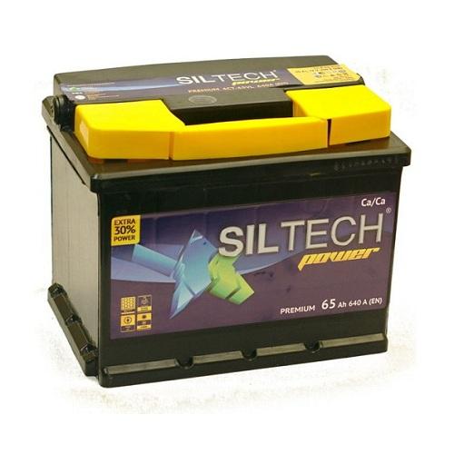 Аккумулятор SILTECH 6СТ-  65 ач (п.п)