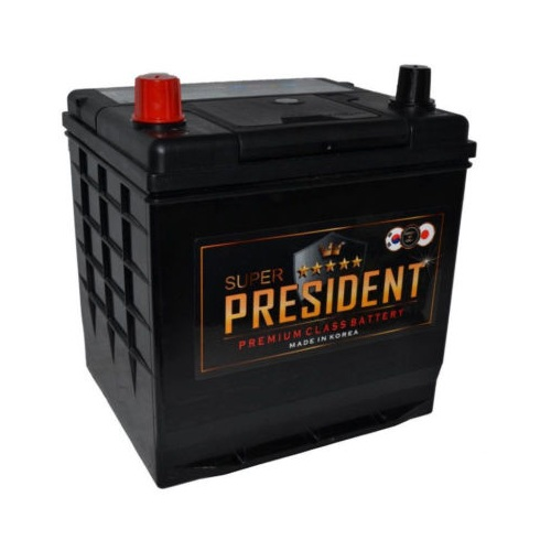 SUPER PRESIDENT 6СТ-50 (50D20R)  ниж.креп. п.п.