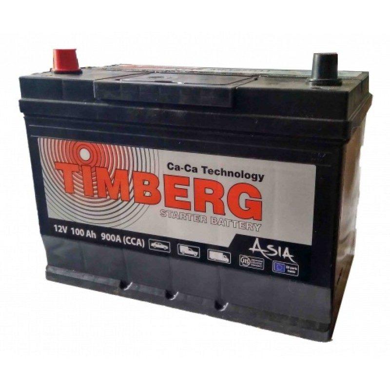 Аккумулятор Timberg Asia 6СТ-100 VL (п.п.) MF125D31R ниж.креп.