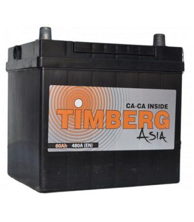 Аккумулятор Timberg Asia 6СТ- 60 VL (о.п.) 55D23L
