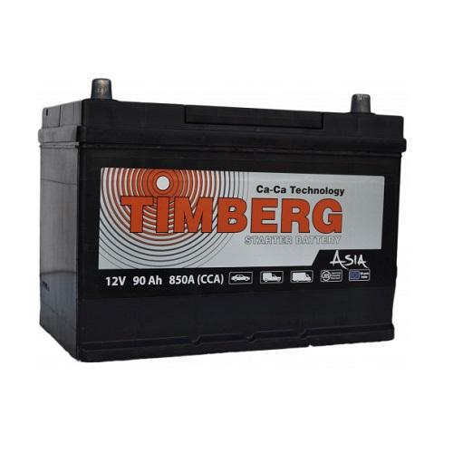 Аккумулятор Timberg Asia 6СТ- 90 VL (о.п.) MF105D31L ниж.креп.