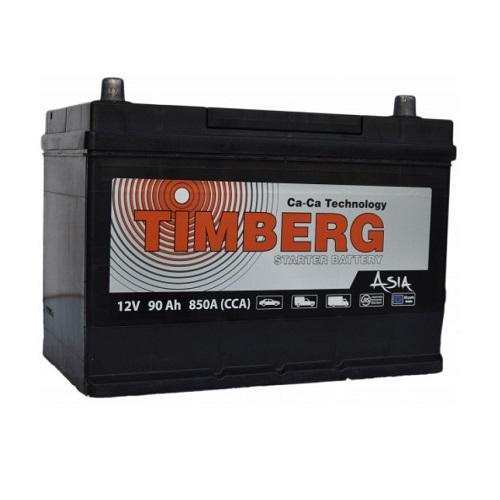 Аккумулятор Timberg Asia 6СТ- 90 VL (п.п.) MF105D31R ниж.креп.