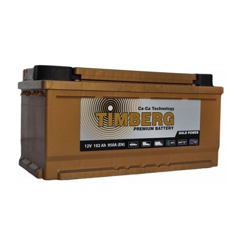 Аккумулятор Timberg Gold Power  6СТ- 102 VRLA (о.п.) низк.