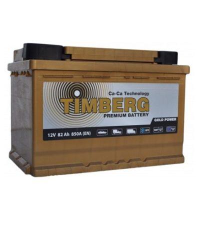 Аккумулятор Timberg Gold Power  6СТ-  82 VRLA (о.п.)