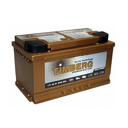 Аккумулятор Timberg Gold Power  6СТ-  88 VRLA (о.п.) низк.