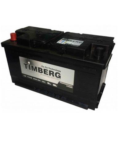Аккумулятор Timberg Professional Power  6СТ- 110 VL L  (п.п.)