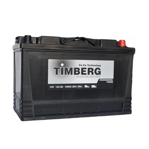 Аккумулятор Timberg Professional Power  6СТ- 125 VL (о.п.)