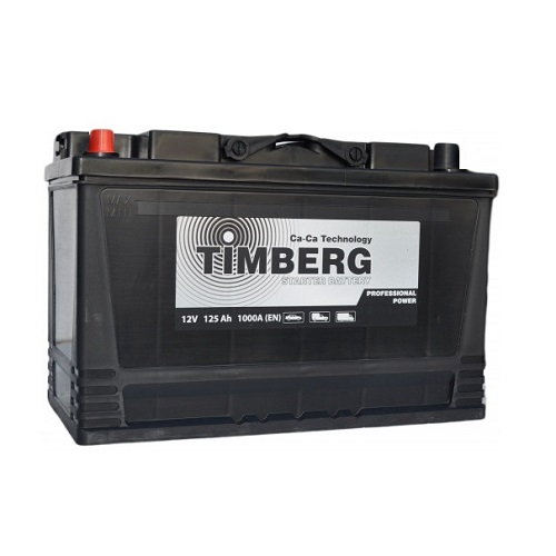 Аккумулятор Timberg Professional Power  6СТ- 125 VL (п.п.)