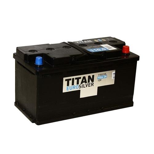 Аккумулятор TITAN EUROSILVER 6СТ-110.0 VL