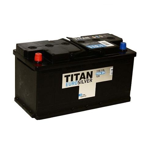 Аккумулятор TITAN EUROSILVER 6СТ- 110 ач п.п.