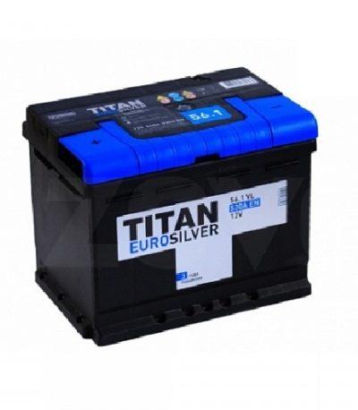 Аккумулятор TITAN EUROSILVER 6СТ- 56 ач п.п.
