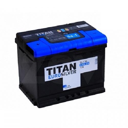 Аккумулятор TITAN EUROSILVER 6СТ-56.1 VL