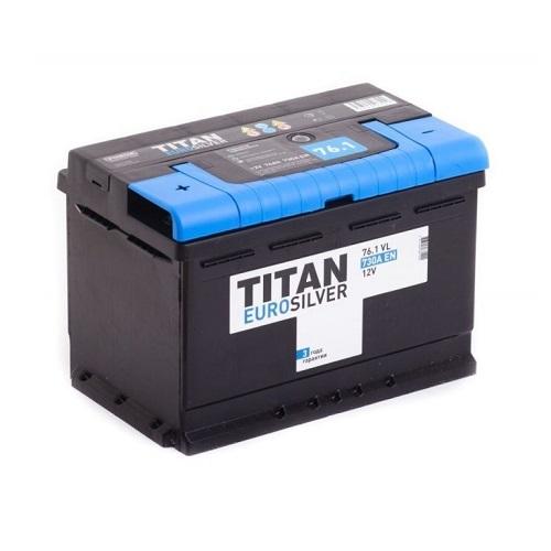 Аккумулятор TITAN EUROSILVER 6СТ-76.1 VL