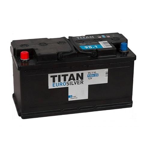 Аккумулятор TITAN EUROSILVER 6СТ-95.1 VL