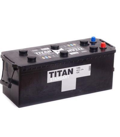 Аккумулятор Титан Standart 6СТ- 135 ач евро
