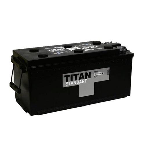Аккумулятор Титан Standart 6СТ- 190 ач конус/болт