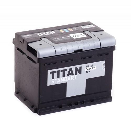 Аккумулятор Титан Standart 6СТ-60L