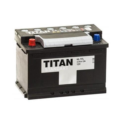 Аккумулятор Титан Standart 6СТ- 66 ач п.п.