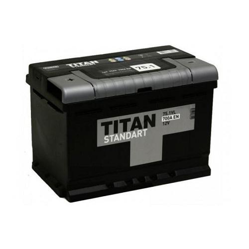 Аккумулятор Титан Standart 6СТ-75 ач п.п.