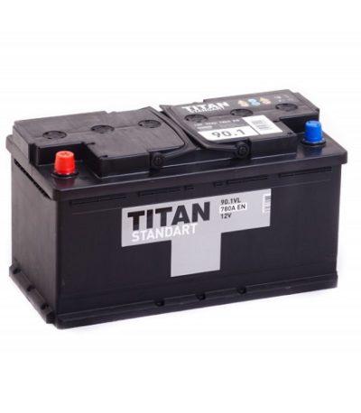 Аккумулятор Титан Standart 6СТ-90 ач п.п.